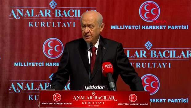Son dakika… MHP lideri Bahçeli'den sert sözler: 'HDP ile ortaklık PKK ile ortaklıktır'